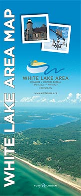 White Lake Area Map